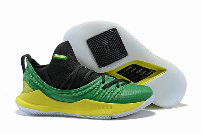 Curry 5 Shoes Dark Green